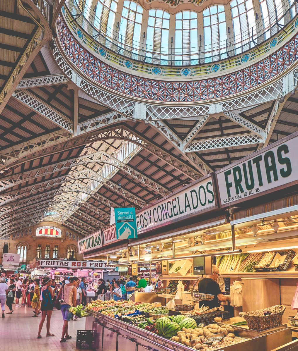 The Central Market of Valencia - Valencia